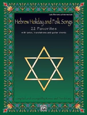 - Hebrew Holiday And Folk Songs - Sheet Music - di-arezzo.co.uk