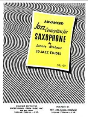 Lennie Niehaus - Advanced Jazz Design For Saxophone - Sheet Music - di-arezzo.com