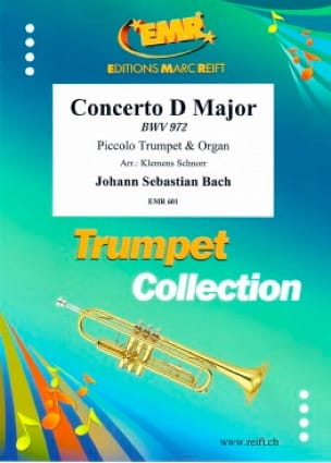 BACH - Concerto in D Major - BWV 972 - Sheet Music - di-arezzo.co.uk