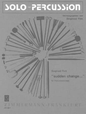 Siegfried Fink - Sudden Change - Sheet Music - di-arezzo.com