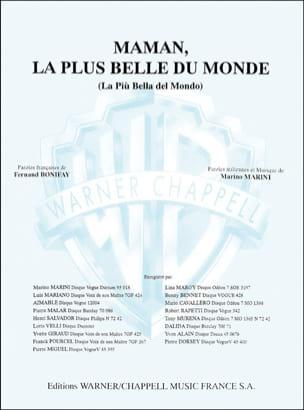 Maman, la Plus Belle du Monde - Partition - laflutedepan.com