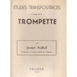 Joseph Albus - Transpository Studies - Sheet Music - di-arezzo.co.uk