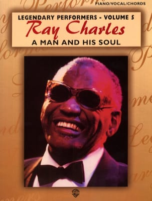 Ray Charles - A Man And His Soul Legendary Performers Volume 5 - Sheet Music - di-arezzo.com