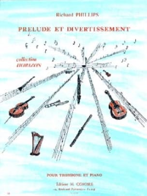 Richard Phillips - Prélude Et Divertissement - Partition - di-arezzo.fr