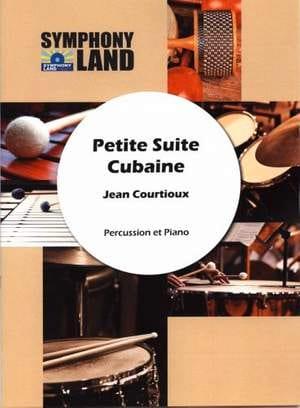 Petite Suite Cubaine Jean Courtioux Partition laflutedepan