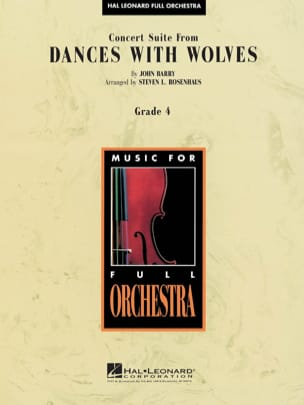 John Barry - Concert Suite from Dances With Wolves - Partition - di-arezzo.fr