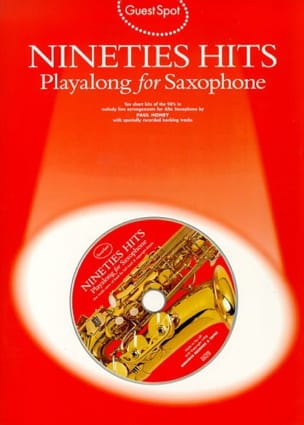 Guest Spot - Nineties hits playalong for alto saxophone - laflutedepan.com