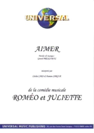 Gérard Presgurvic - Like Romeo and Juliet - Sheet Music - di-arezzo.com