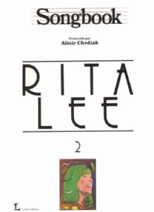 Songbook Volume 2 - Rita Lee - Partition - Guitare - laflutedepan.com