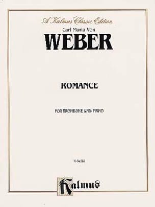 Carl Maria Von Weber - Romance - Sheet Music - di-arezzo.co.uk