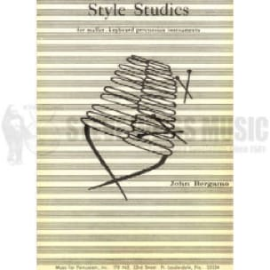 John Bergamo - Style Studies - Sheet Music - di-arezzo.co.uk