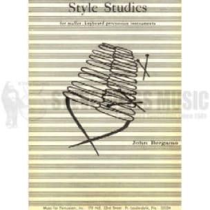 John Bergamo - Style Studies - Sheet Music - di-arezzo.com