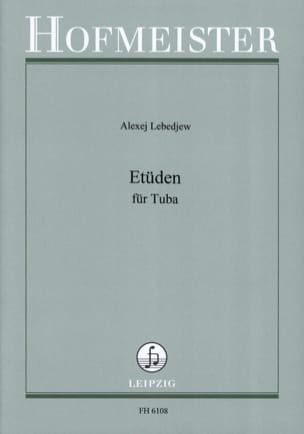 Alexej Lebedjew - Studies - Sheet Music - di-arezzo.co.uk