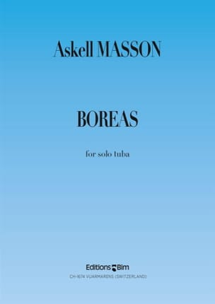 Askell Masson - Boreas - Sheet Music - di-arezzo.com