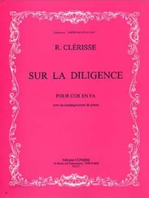 Sur la Diligence - Robert Clérisse - Partition - laflutedepan.com