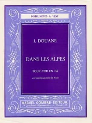 Jules Douane - Dans les Alpes - Partition - di-arezzo.fr