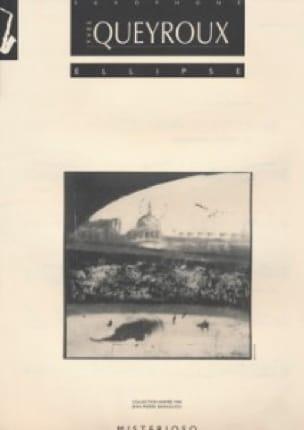 Ellipse - Yves Queyroux - Partition - Saxophone - laflutedepan.com