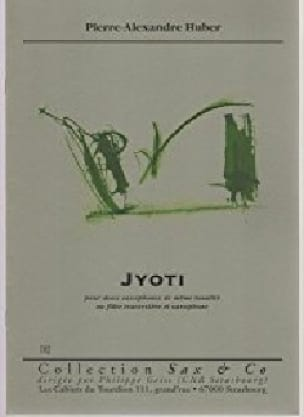 Jyoti - Pierre-Alexandre Huber - Partition - laflutedepan.com