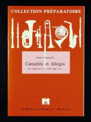 Bruno Camporelli - Cantabile Et Allegro - Partition - di-arezzo.fr