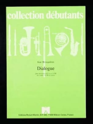 Dialogue - Jean Brouquières - Partition - Trompette - laflutedepan.com