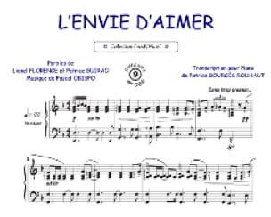 L'Envie D ' Aimer Pascal Obispo Partition laflutedepan