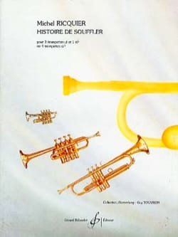 Michel Ricquier - History of Souffler - Sheet Music - di-arezzo.co.uk