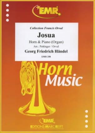 Josua - Georg Friedrich Haendel - Partition - Cor - laflutedepan.com