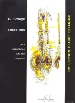 Gino Samyn - Samba Party - Sheet Music - di-arezzo.co.uk