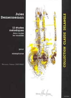 12 Etudes Mélodiques Jules Demersseman Partition laflutedepan