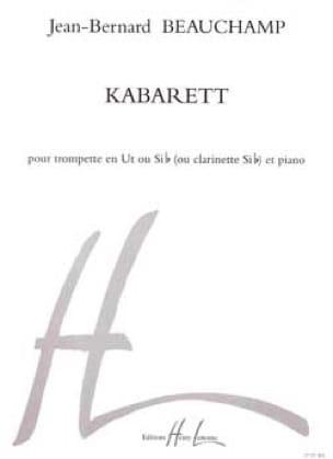 Kabarett Jean-Bernard Beauchamp Partition Trompette - laflutedepan