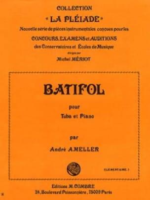 Batifol André Ameller Partition Tuba - laflutedepan