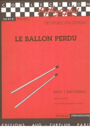 Le Ballon Perdu Georges Paczynski Partition Timbales - laflutedepan