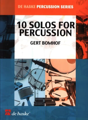 Gert Bomhof - 10 Solos For Percussions - Partition - di-arezzo.fr