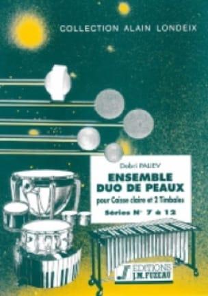 Ensemble Duo de Peaux Séries 07 A 12 - Dobri Paliev - laflutedepan.com