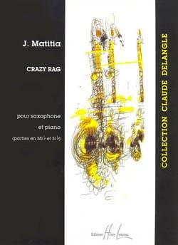 Jean Matitia - Crazy Rag - Partition - di-arezzo.fr