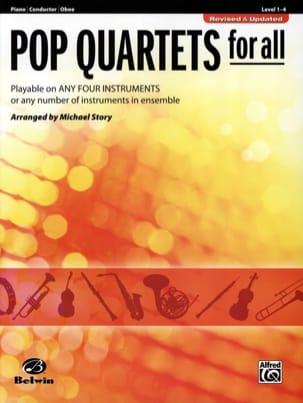 Michael Story - すべてのポップカルテット - 改訂 - 更新 - Oboe - 楽譜 - di-arezzo.jp