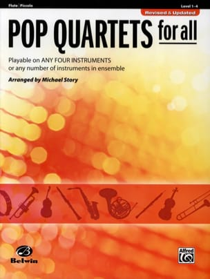Michael Story - Pop quartets for all - Sheet Music - di-arezzo.com