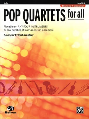 Michael Story - Pop quartets for all - Revised & Updated - Partition - di-arezzo.fr