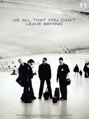 U2 - All That You Can't Leave Behind - Partition - di-arezzo.fr