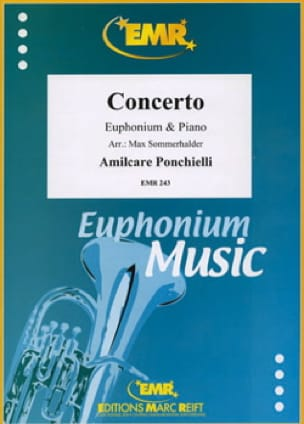 Amilcare Ponchielli - Concerto For Euphonium - Partition - di-arezzo.fr