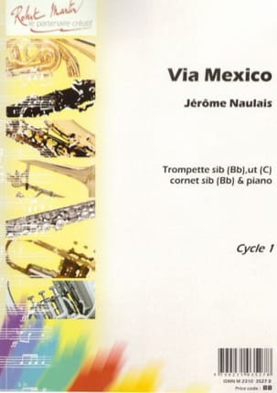 Jérôme Naulais - Via Mexico - Sheet Music - di-arezzo.com