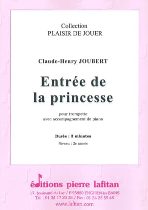 Claude-Henry Joubert - Princess entrance - Sheet Music - di-arezzo.co.uk