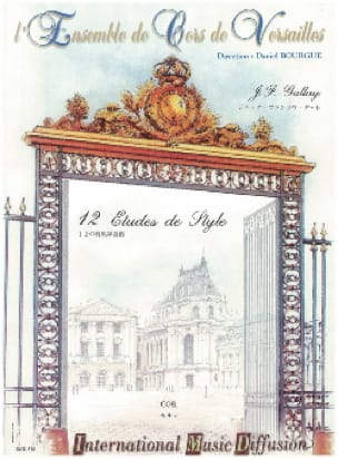 Jacques-François Gallay - 12 Style Studies - Sheet Music - di-arezzo.co.uk