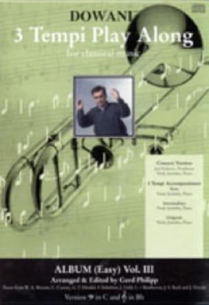 - 3 Tempi Play Along, Album Easy Volume 3 (Fa) - Partition - di-arezzo.fr
