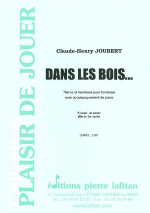 Claude-Henry Joubert - In the woods - Sheet Music - di-arezzo.co.uk