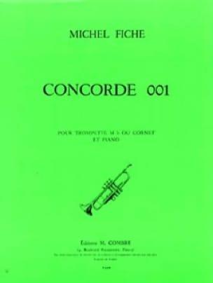 Michel Fiche - Concorde 001 - Partition - di-arezzo.fr