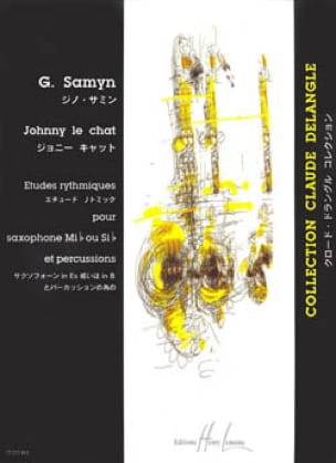 Gino Samyn - Johnny le Chat - Partition - di-arezzo.fr
