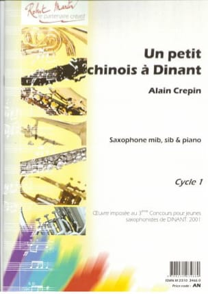 Alain Crepin - A small Chinese in Dinant - Sheet Music - di-arezzo.com