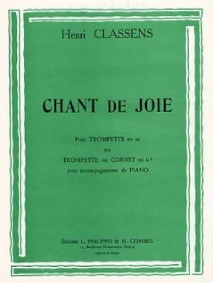 Chant de Joie CLASSENS Partition Trompette - laflutedepan