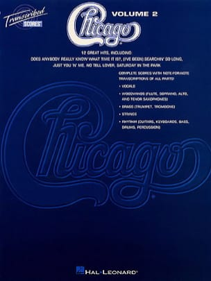Chicago - Chicago Volume 2 - 12 Great Hits - Partition - di-arezzo.fr
